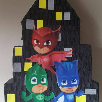 Pinata inspired by Pj masks