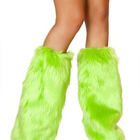 Apple Green Fluffies | J. Valentine at RaveReady