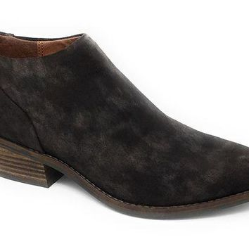 ICIKAB3 Lucky Brand Fai Bracken Suede Leather Booties