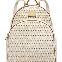 MICHAEL Michael Kors Large Jet Set Studded Backpack
