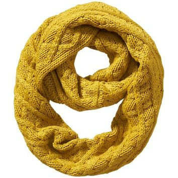 Old Navy Womens Cable Knit Infinity Scarf Size One Size - Pressed olive