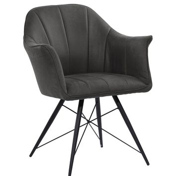 Mid Back Purple Quilted Vinyl Task Chair From Contemporary