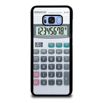 CALCULATOR Samsung Galaxy S8 Plus Case Cover