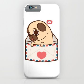 You've Got Mail iPhone & iPod Case by Puglie Pug