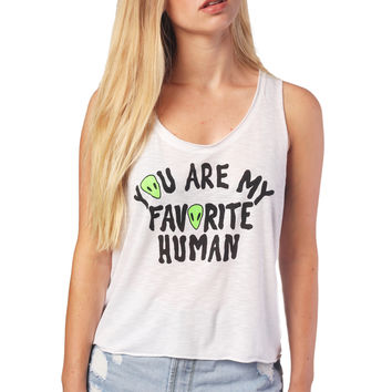 Favorite Human Tank Top