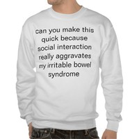 ibs sweater pullover sweatshirts from Zazzle.com