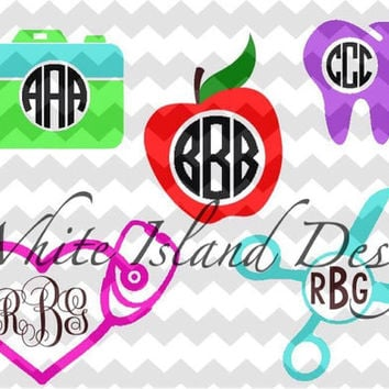 Occupation Monogramed Decal