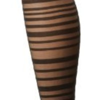 Betsey Johnson Women's Sassy Stripe Sheer Tight