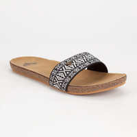 Roxy Pillar Womens Sandals Black  In Sizes