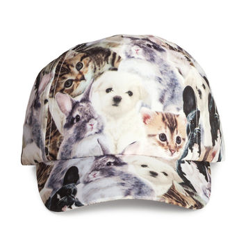 H&M - Patterned Cap - Animal print - Kids