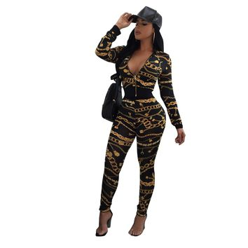 """BODYCON"" New 2 Piece Set Women Jumper Set"