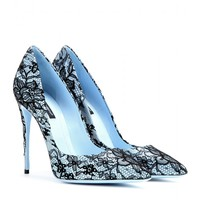 dolce & gabbana - kate lace-coated pumps