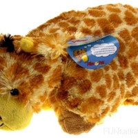 "Pillow Pets Pee Wees Jolly Giraffe Seen On TV 2011 11"" Stuffed Animal Plush Toy"