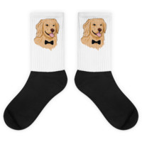 Golden Retriever Socks For Women | Funny Dog Sock | The Jazzy Panda