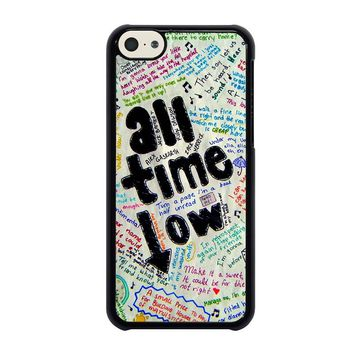 ALL TIME LOW COLOUR iPhone 5C Case Cover
