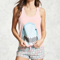 Shark Graphic PJ Set