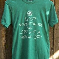 Keep Adventuring Tee (Green)