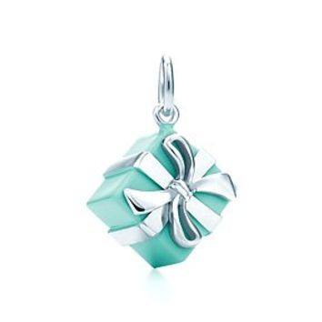 3e20bc0004c2 Tiffany   Co. - Tiffany Blue Box® charm in sterling silver with