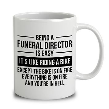 Being A Funeral Director