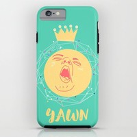 YAWN iPhone & iPod Case by Chyworks | Society6