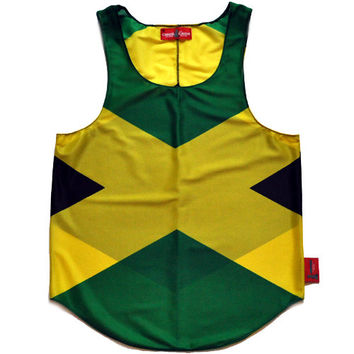 Jamaica Flag Tank Top