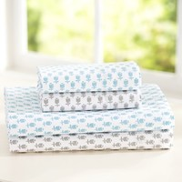 Tulip Blockprint Sheet Set