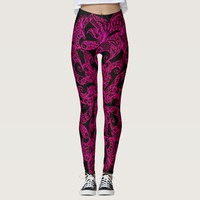 Ornamental, ethnic pattern, leggings