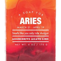 Aries Aggressive Agave Scented Soap - Smells Like You Only Ride Shotgun - LAST ONE!