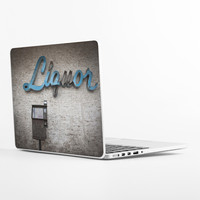 Liquor Sign Laptop Skin