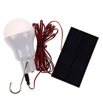 Portable Solar Power LED Bulb Lamp Outdoor Lighting Camp Tent Fishing Lamp MTY3