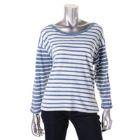 Levis Womens Knit Striped T-Shirt