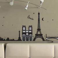 Paris, France Wall Decal Sticker