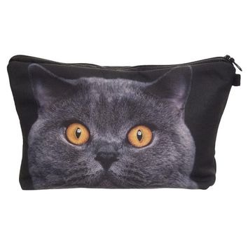 Cat pencil case 3D estojo escolar Creative papelaria pencilcase estuches para lapices pen case pencilcase kalem kutu
