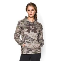 Under Armour Women's UA Camo Big Logo Hoodie