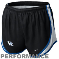 Nike Kentucky Wildcats Womens Tempo Performance Shorts - Black