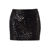 ModeWalk.com: Sequined Mini Skirt by Alexander Terekhov