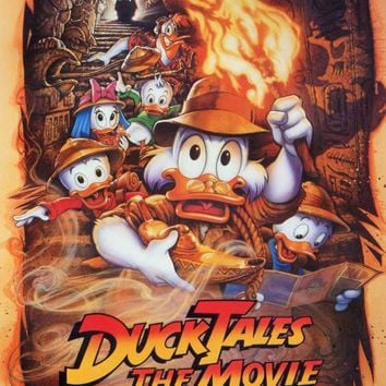 Duck Tales the Movie - Treasure of the Lost Lamp 27x40 Movie Poster (1990)