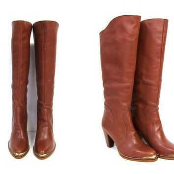 Shop 70's Women Boots on Wanelo