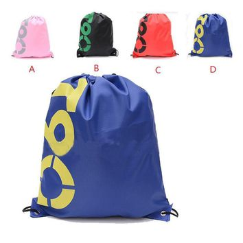 New Hot Practical Large Capacity Swimming Bag Seaside Beach Tote Shoulder Bag Waterproof Drawstring Debris Clothing Storage Bag