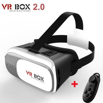 CREYL New Virtual Reality VR BOX II 2.0 Version 3D Glasses Google Cardboard VR Glasses 3D Video Movie Game For Smartphones 3.5-6 inch