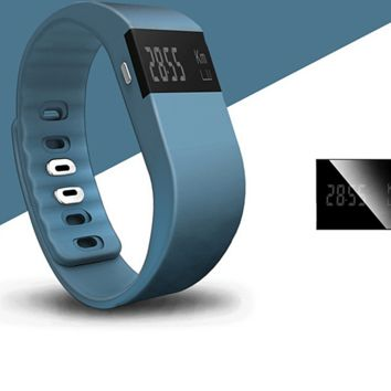 Upgraded Version Smart Bluetooth Fitness Bracelet +Gift Box