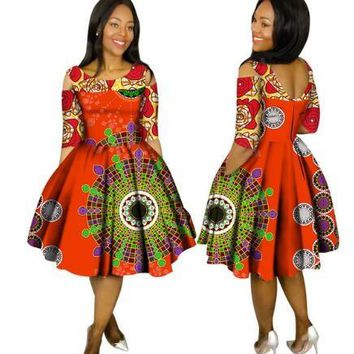 Robe Africaine Promotion Cotton African Dresses For Women In African Clothing 2017 New Style African Women Clothing