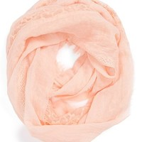 BP. Lace Trim Scarf (Juniors)