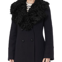Wilson Shearling Collar Coat