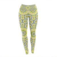 "Miranda Mol ""Multifaceted Flowers"" Yoga Leggings"