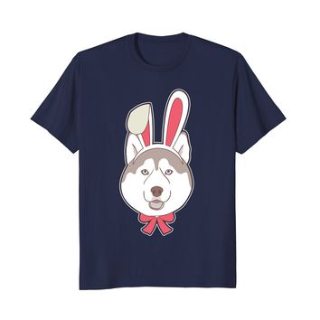Funny Siberian Husky Dog Happy Easter Decorations 2018 Shirt