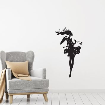 Vinyl Decal Wall Sticker Summer Girl Fashion Style Beauty Decor Unique Gift (g083)