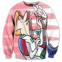 Rich George Jetson The Jetsons Pink Sweatshirt