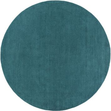 Surya Mystique M5330 Blue Solids and Borders Area Rug