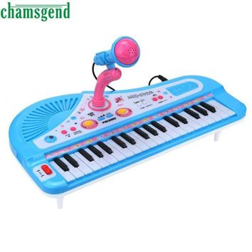 CHAMSGEND 37 Keys Digital Music Electronic Keyboard Electric